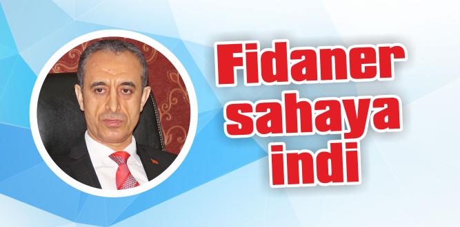 Bağımsız aday Fidaner, gazetecileri ağırladı