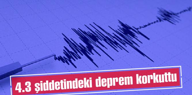 Fırtınanın hakim olduğu Torbalı'da deprem paniği!