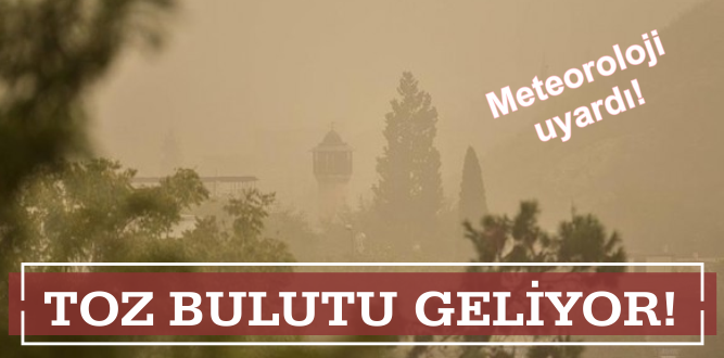 İzmir ilçelerine 'toz' uyarısı