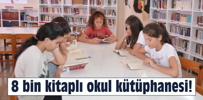 İlçe kütüphanelerinden daha zengin