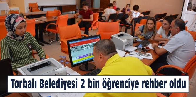 Torbalı Belediyesi 2 bin öğrenciye rehber oldu