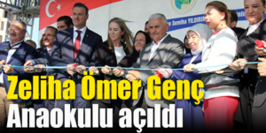 Son Başbakan Torbalı'da anaokulu açtı