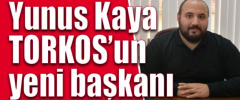 TORKOS'ta kongre tamam: Yeni başkan Yunus Kaya