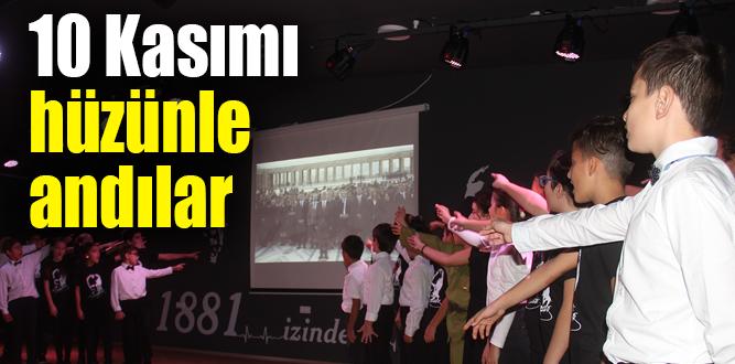 Öğrenciler Atatürk'ü anlattı