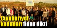 Torbalı'da 'Cumhuriyet Kadınları Ormanı'