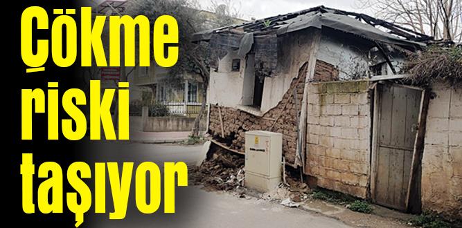 Deprem sonrası zarar gördü