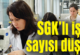 Nüfus arttı SGK'lı çalışan azaldı