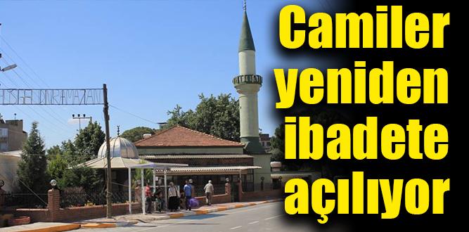 Torbalı'da açılacak camiler belli oldu