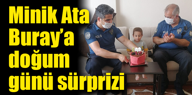 Polis amcaları sürpriz yaptı