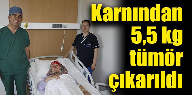 Tınaztepe'li doktorun başarılı ameliyatı sonuç verdi