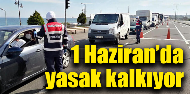 Şehirler arası seyahat sınırlaması 1 Haziran'dan itibaren tamamen kaldırılacak