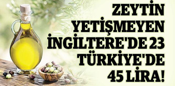İngiltere'de 23 lira, Türkiye'de 45 lira!