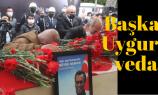 Başkan Uygur son yolculuğuna uğurlandı
