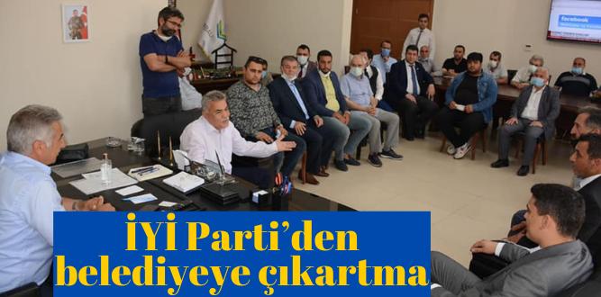 İYİ Parti'den belediyeye ziyaret