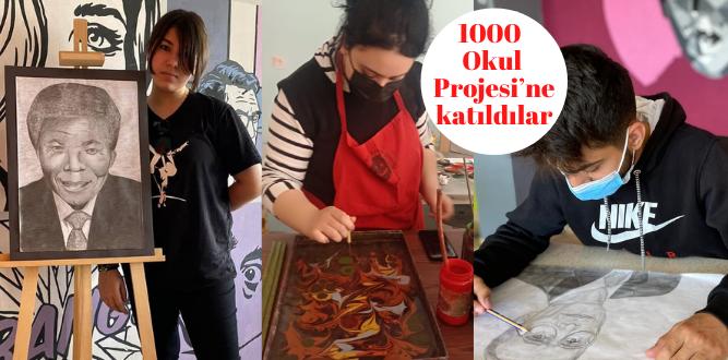 1000 Okul Projesi'ne katıldılar