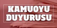 İzmir Büyükşehir Belediyesi kerevet alacak