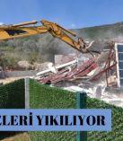 METROPOLİS'TE YIKIM BAŞLADI