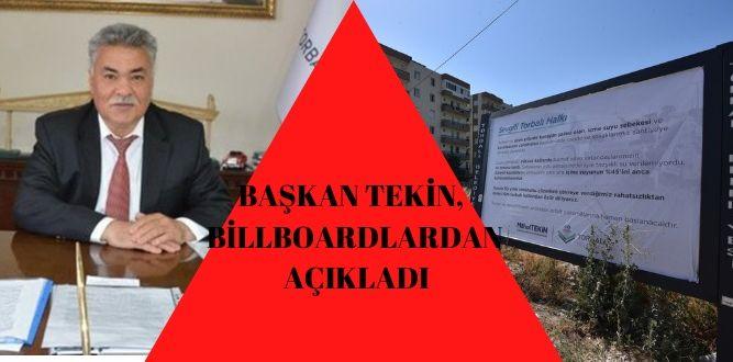 """""""TESTLERİN ARDINDAN ASFALT ÇALIŞMALARINA BAŞLANACAK"""""""