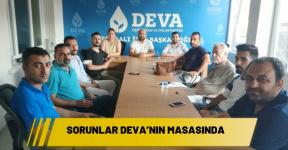 Vatandaşın sorunları DEVA'nın masasında
