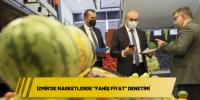 """İzmir'de marketlerde """"fahiş fiyat"""" denetimi"""