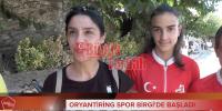 VİDEO HABER: Oryantı̇rı̇ng Spor Bı̇rgı̇'de başladı