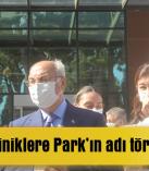 Polikliniklere Park'ın adı törenle verildi