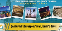 Şanlıurfa Federasyonu'ndan İzmir'e davet