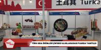 Türk gıda ürünleri Çin'deki uluslararası fuarda tanıtıldı