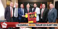Kılıçdaroğlu, Göztepe tesisleri için müjdeyi verdi